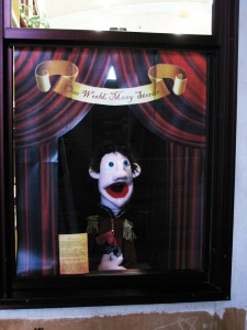This is my puppet Lachlan Macquarie representing Muppets