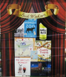 Another window sized poster of Book Week titles