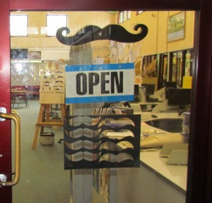 Open Moustache