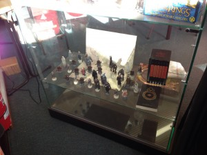 Photo of the Lord of the Rings Chess set